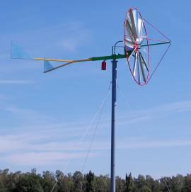 turbina bokiem do wiatru