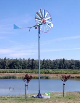 turbina na słupie