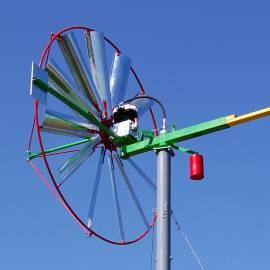 wiatrak bokiem do wiatru