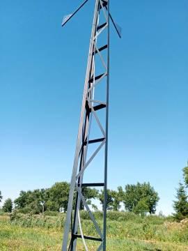 wieża kratowa